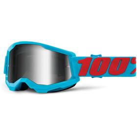 100% Strata Anti-Fog Goggles Gen2, niebieski/turkusowy